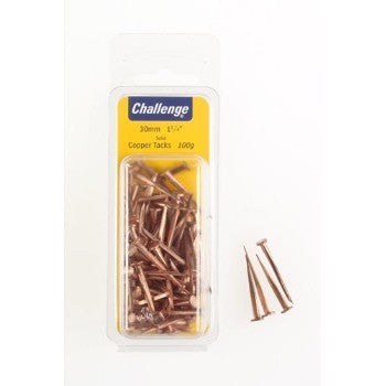25mm Cut Copper Tacks-100g