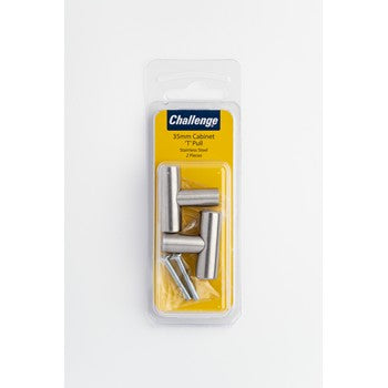 Cabinet 'T' Pull - Stainless Steel
