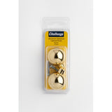 28x32mm Spherical Cabinet Knob - Brassed