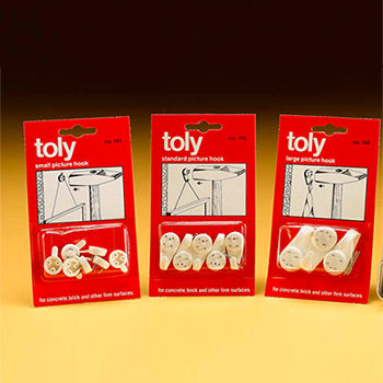 Small Hard Toly Wall Hooks