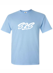 T-shirt S2S Vague Bleu