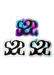 Lot 3 Stickers S2S Logo #2