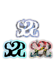 Lot 3 Stickers S2S Logo #1