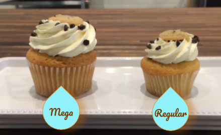 Mother's Day - Flower Mega Cupcake (Available 5/6-5/9)
