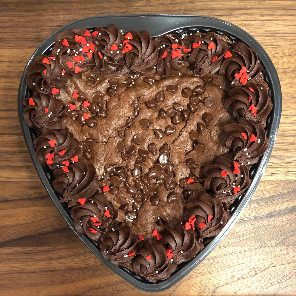 Heart-Shaped Brownie (48 hour notice required)