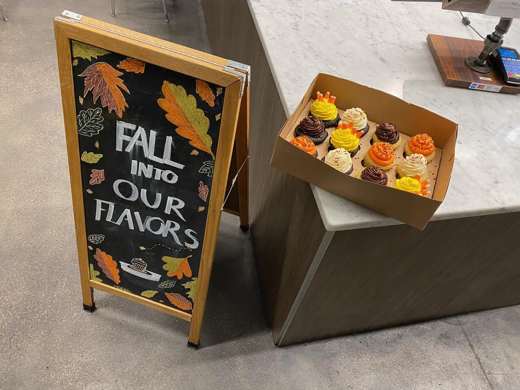 Thanksgiving Harvest Cupcake Box (48 hour notice required)