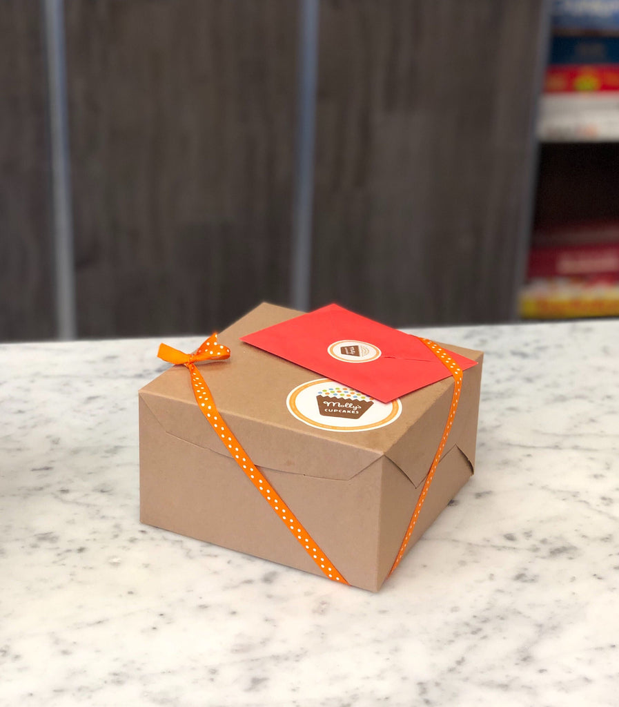 Kraft Box and Ribbon