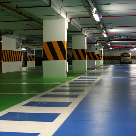 Strongcoat ID - Intermediate Car Park Decking System