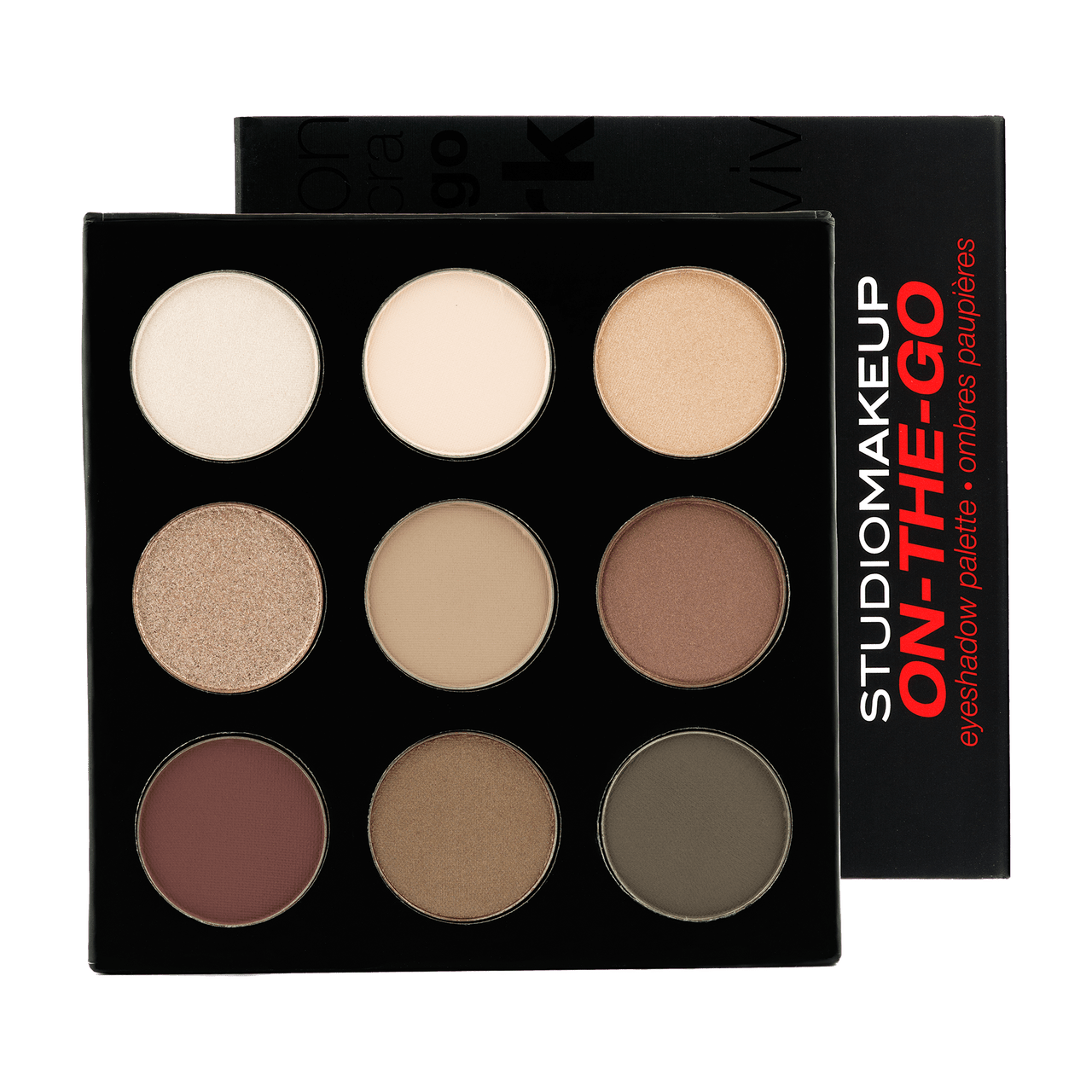 ON THE GO - EYESHADOW PALETTE - COOL DOWN - Studio Make Up US