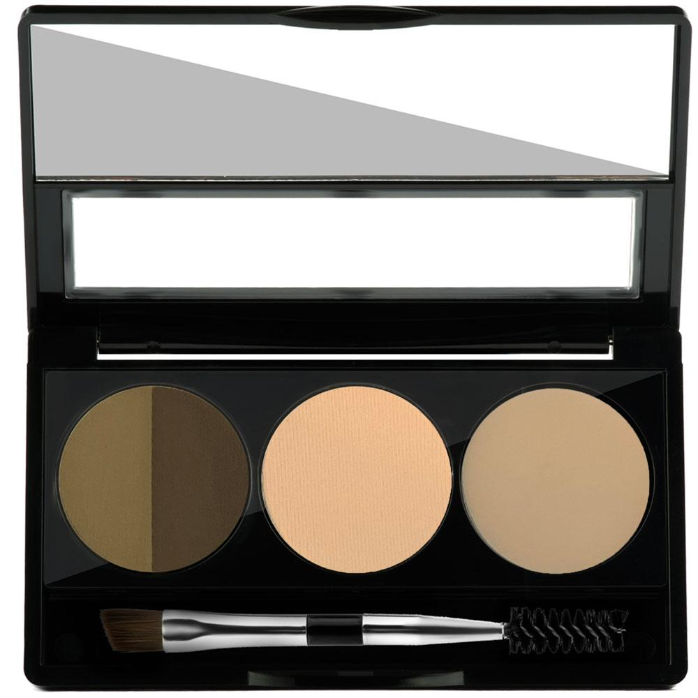 BROW SCULPTING PALETTE DARK - Studio Make Up US
