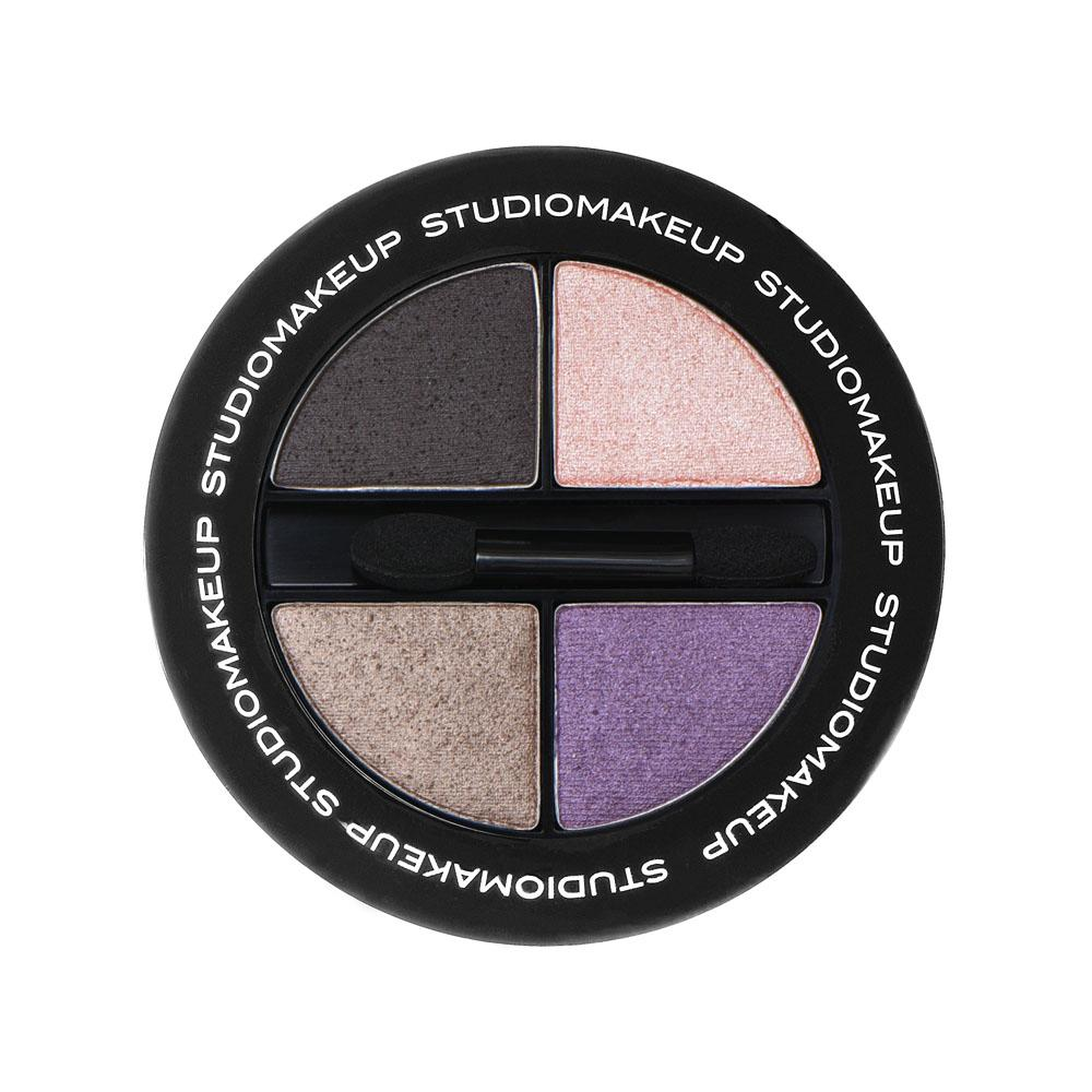 SOFT BLEND EYESHADOW QUAD - Studio Make Up US