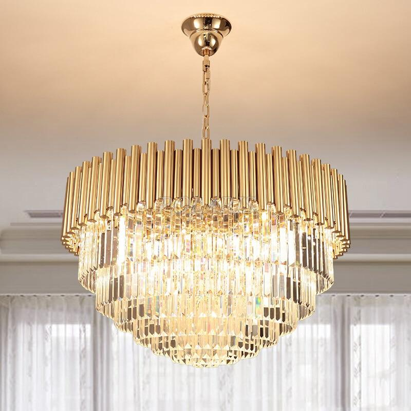 Round Crystal Chandelier | Wayfair