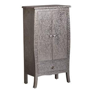 Metal embossed cabinet - 2 doors 1 drawer