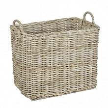 Load image into Gallery viewer, Rectangular Wicker Baskets with Wicker Handle