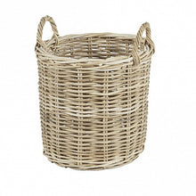 Load image into Gallery viewer, Round Wicker Baskets - Wicker Handle