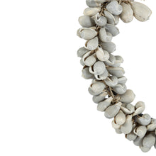 Load image into Gallery viewer, Grey Shell Cluster Necklace on Stand