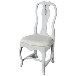 Swedish Style Dining Chair - Distressed Grey