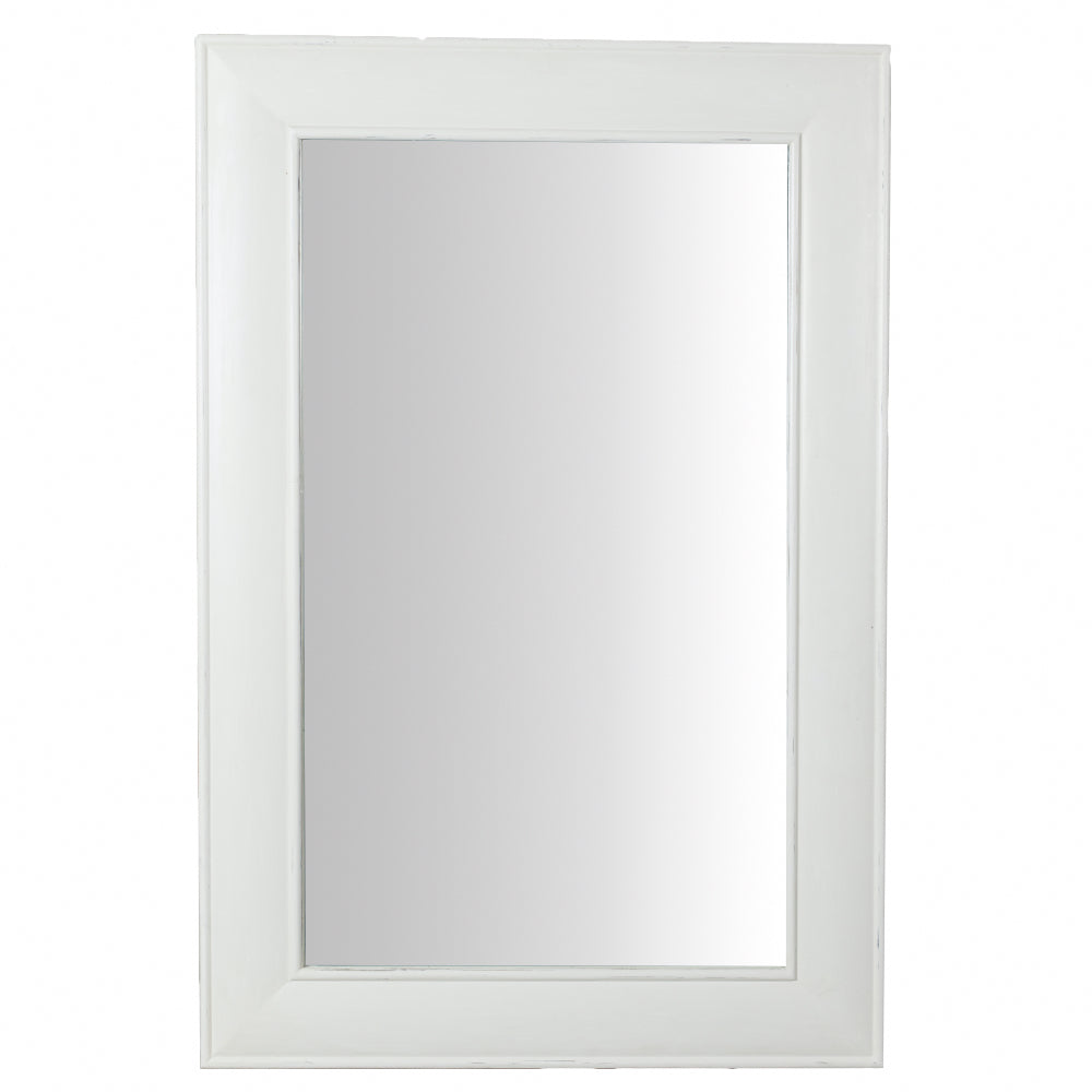Large Painted Mirror - Wide Frame