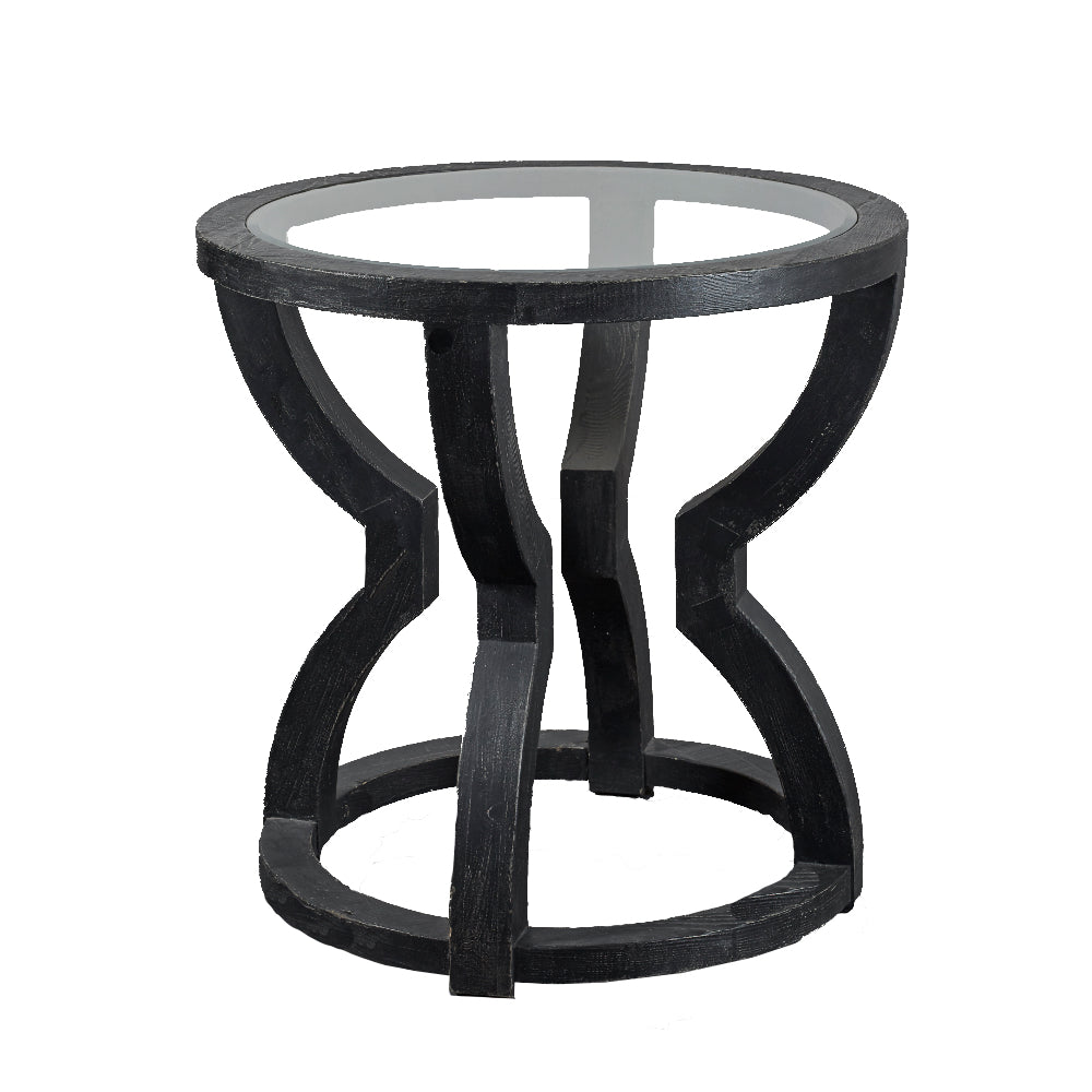 Round Contemporary Hall Table