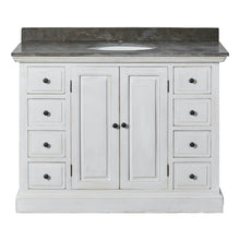 Load image into Gallery viewer, Single Bathroom Vanity - White Painted Base