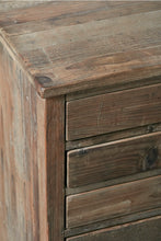 Load image into Gallery viewer, Reclaimed Pine Chest of 12 Map Drawers - Cup Handles