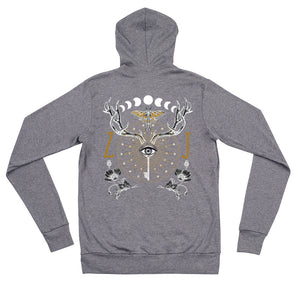 ANIMUS collection-Unisex zip hoodie-ORB OF NIGHT
