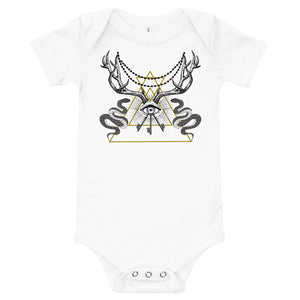 ANIMUS Collection-Baby Onesie-TRIANGLE EYES