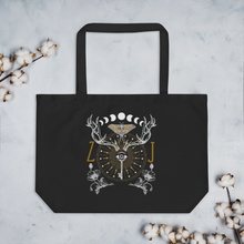 Load image into Gallery viewer, ANIMUS Collection-Large organic tote bag-ORB OF NIGHT