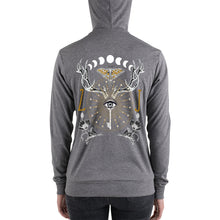 Load image into Gallery viewer, ANIMUS collection-Unisex zip hoodie-ORB OF NIGHT