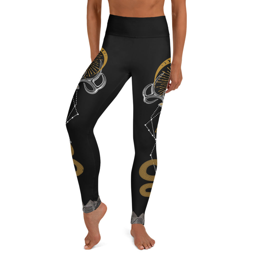 ANIMUS Collection-Zoe Jakes Leggings-SKELETON KEY