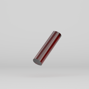 Acrylic Extruded Rod Red 2423
