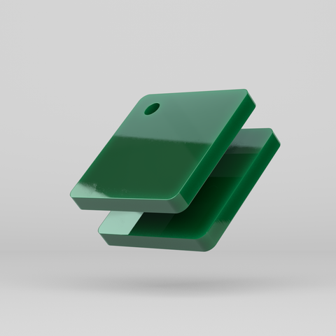 Perspex Colours Green 6643