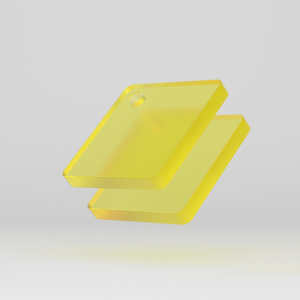 Perspex Frost Citrus Yellow S2 2T07