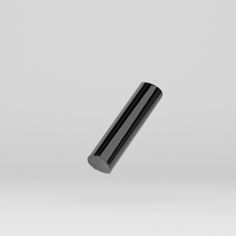 Acrylic Extruded Rod Black 2025