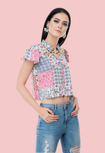 Load image into Gallery viewer, Boheme crop top from not so sober.com