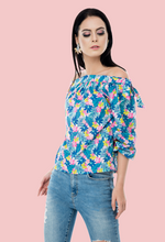Load image into Gallery viewer, the bow top-off-shoulder top online from not so sober