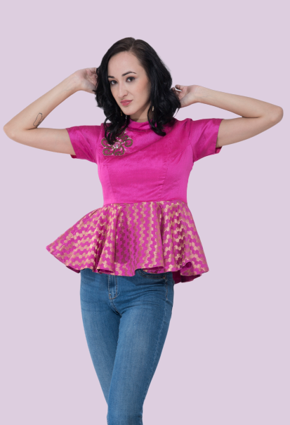 patakha guddi festive style tops online from not so sober