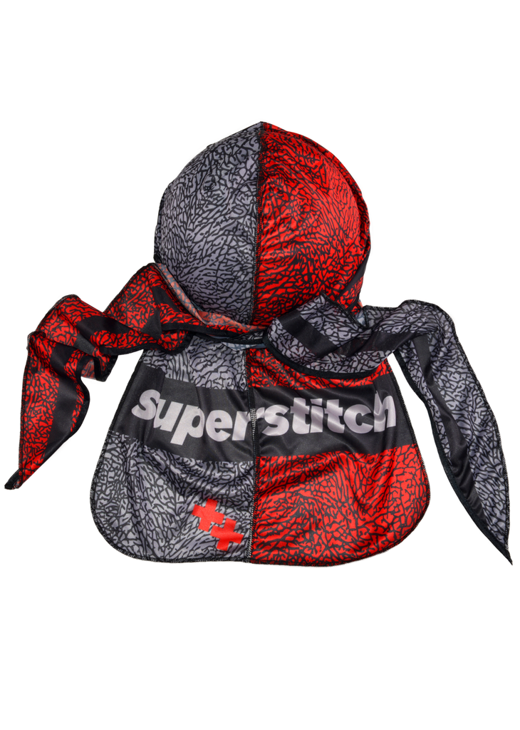 Superstitch Big Safari superag - premium quality silky durag