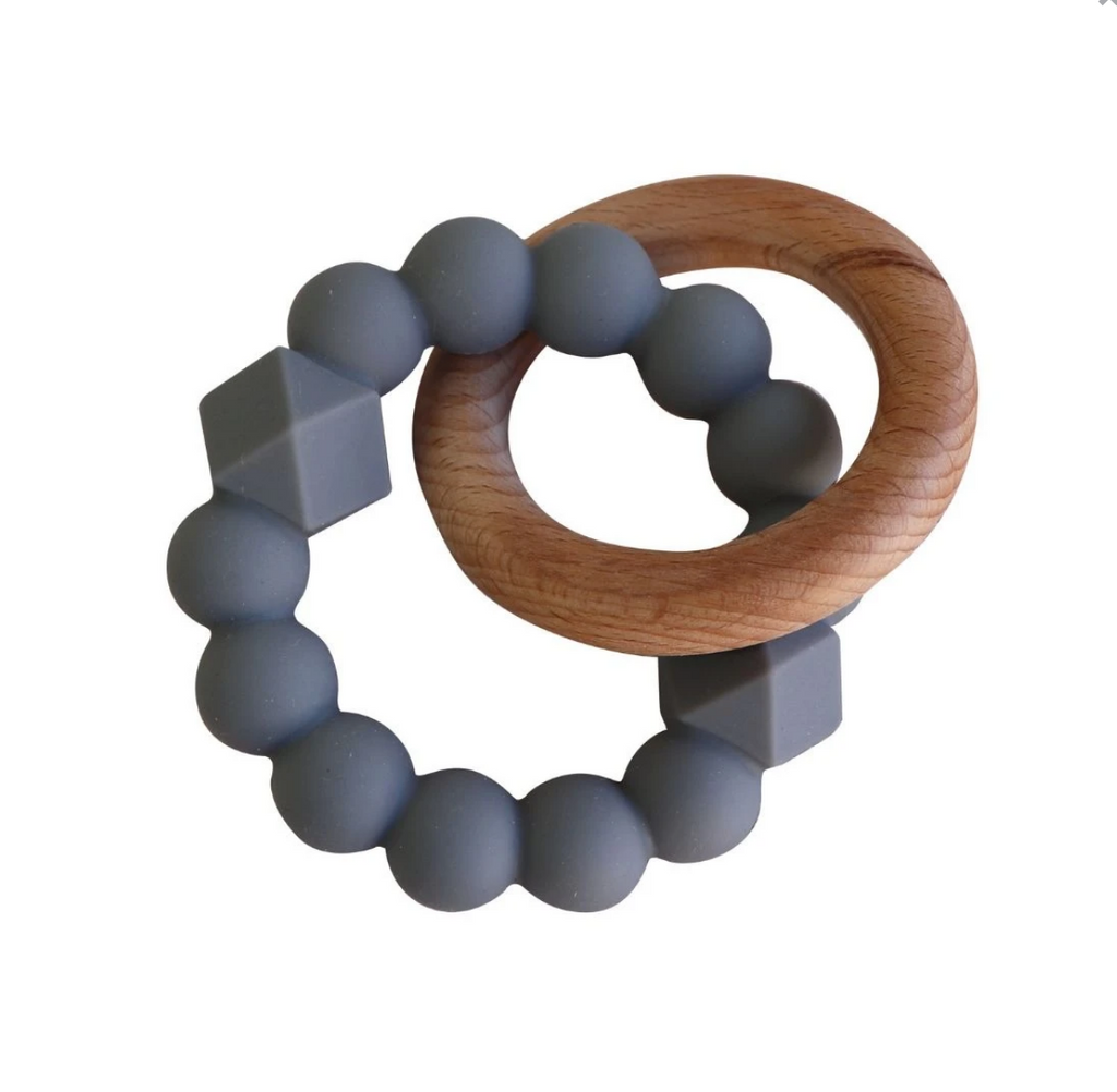 Moon Teether  - Grey