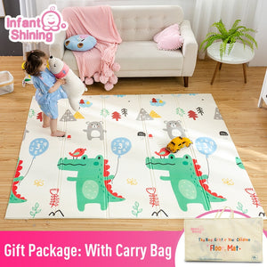 Infant Shining Baby Mat Play Mat for Kids 180*200*1.5cm Playmat Thicker Bigger Kids Carpe
