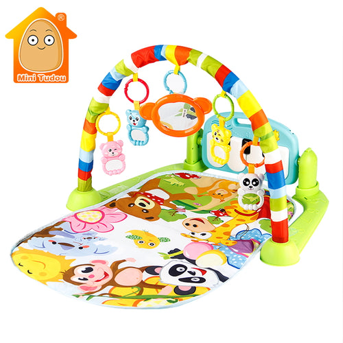 Baby Play Mat Kids Rug Educational Puzzle Carpet With Piano Keyboard