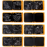 Portable Soft Chalk Board Drawing Book Animal Marine Life Coloring Book DIY
