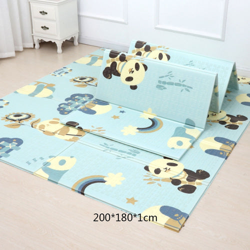 Cartoon Baby Play Mat Foldable Xpe Puzzle Children's Mat Baby Climbing Pad
