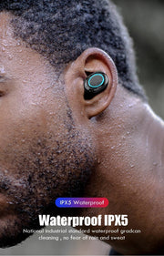 TOUCH CONTROL WIRELESS EARBUDS WITH POWER BOX - FLORESKYLER
