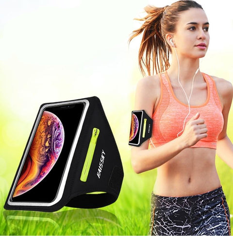 Running Sport Phone Case on Hand - FLORESKYLER