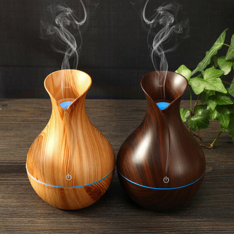 130ML Creative Appearance USB LED Ultrasonic Aroma Humidifier Essential Oil Diffuser ABS PP Exquisite Aroma therapy Purifier New - FLORESKYLER
