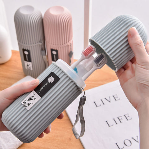 1pcs New Portable Travel Toothbrush Protect Holder Storage Cap Case Travel Camping Toothbrush Box Cover Household Storage - FLORESKYLER