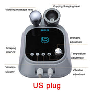 Electric Scraping Machine EMS Scraping Fat Burner Cupping Massager Vacuum Suction Cups Ventosas Anti Cellulite Guasha Therapy - FLORESKYLER