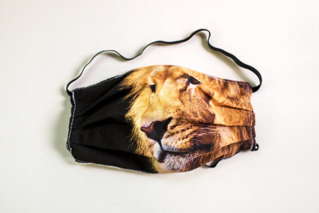 Pleated Lion - Maskcott
