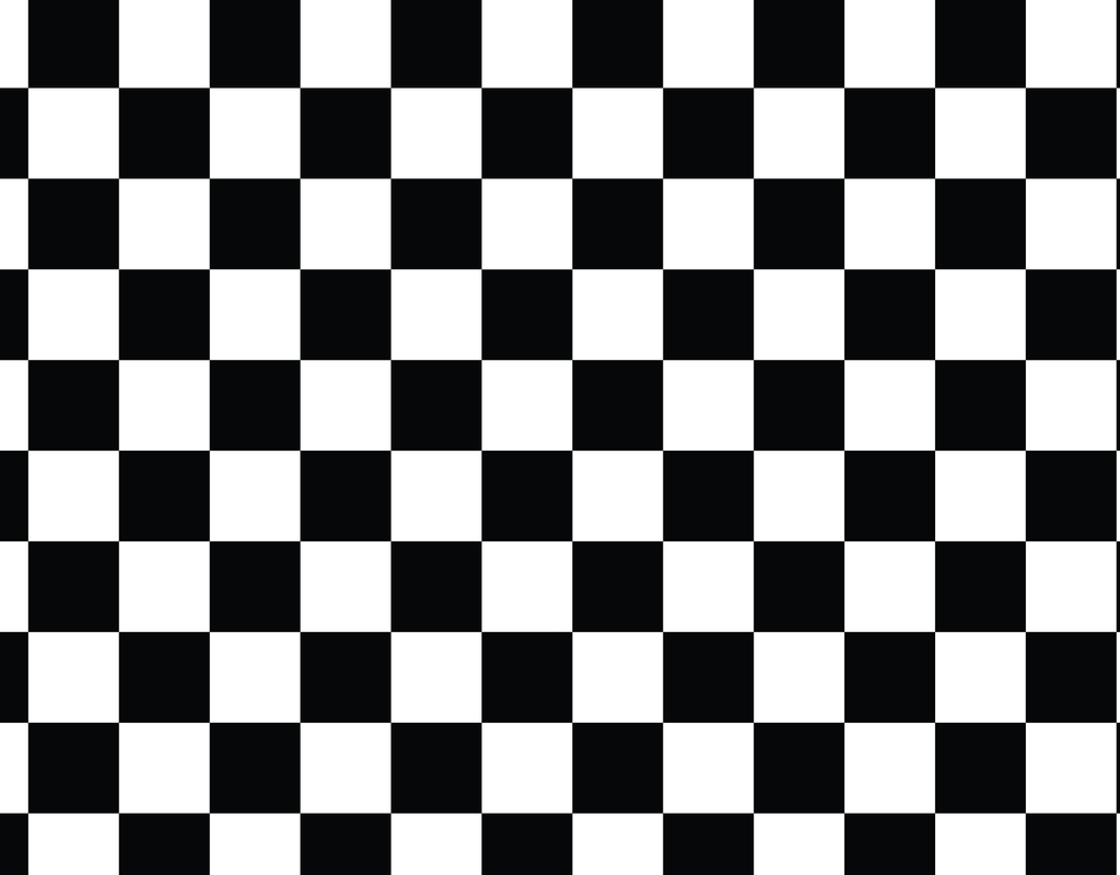 Pleated Checkerboard Pattern - Maskcott
